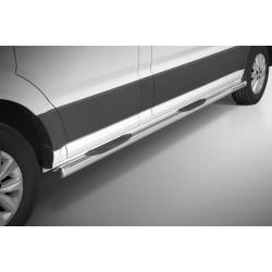 Marchepieds VW Crafter Court (2017-) - Latéraux avec revêtement en plastique anti-dérapant -