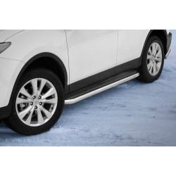 Marchepieds Toyota RAV4 (2013-2015) - Plat avec plaque anti-dérapante -