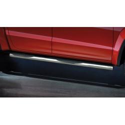 Marchepieds VW Amarok (2016-) - Latéraux avec revêtement en plastique anti-dérapant -