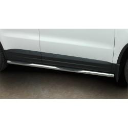 Marchepieds VW Tiguan (2007-2016) - Latéraux avec revêtement en plastique anti-dérapant compatible version sport -