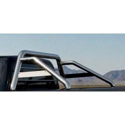 Rollbar VW Amarok (2016-) - Arceau de benne avec grille avec plaque simple barre -