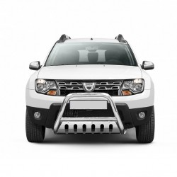 pare buffle avec plaque de protection dacia duster de 2013 2017. Black Bedroom Furniture Sets. Home Design Ideas