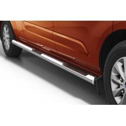 Marchepieds Ford Transit Custom Long à partir de 2018 - Latéraux Profilé -