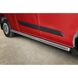 Marchepieds Ford Transit Custom Long (2018-) - Rond Latéraux -