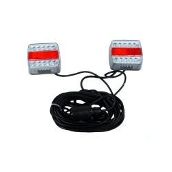 Kit de signalisation arrière LED avec plot magnétique 7 m