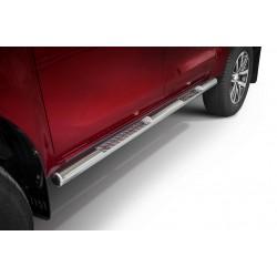 Marchepieds latéraux profilé Toyota Hilux (2018-)