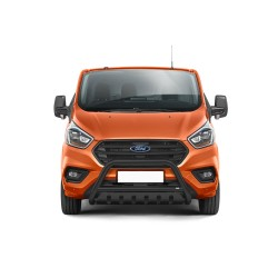 Pare-buffle avec plaque de protection Ford Transit Custom (2018-)