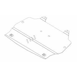 Plaque de protection moteur et boite de vitesses Hyundai ix35