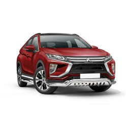 Barre pare buffle avec plaque de protection Mitsubishi Eclipse Cross (2017-)