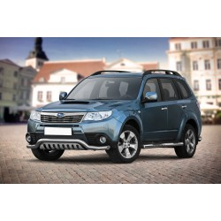 Barre pare buffle avec plaque de protection Subaru Forester (2008-2013)