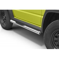 Marchepieds Suzuki Jimny (2018 -) - Latéraux avec revêtement en plastique anti-dérapant -