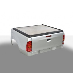 Couvre Benne Couvercle en aluminium Nissan Navara (2015-) cabine 1,5