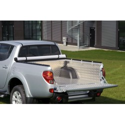 Protection de benne aluminium Mitsubishi L200 (2009-2015)