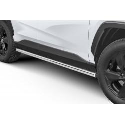 Marchepieds Toyota RAV4 (2018 -) - Rond Latéraux -
