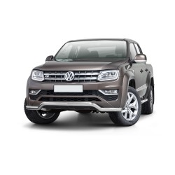Barre pare-buffle Volkswagen Amarok V6 avec plaque de protection d'origine (2016-)