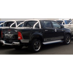 Couvre Benne Couvercle en ABS Toyota Hilux avec RollBar- (2011-2015)