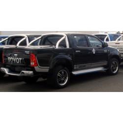 Couvre Benne Couvercle en ABS Toyota Hilux avec RollBar- (2015-2018)