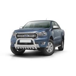 Pare-buffle avec plaque de protection Ford Ranger (2019-)
