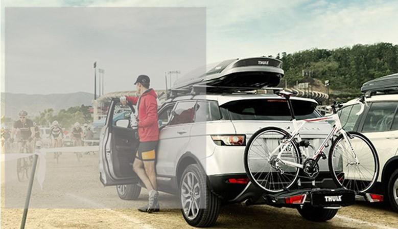 Porte-vélo d'attelage